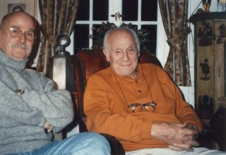 Richard Lenggenhager und Ettore Cella
