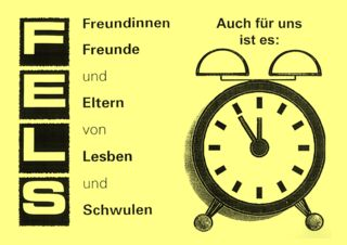 Flyer, fels an der Wecker-Aktion