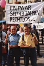 Demonstrationsumzug in Bern, 1999